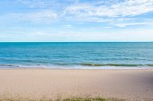 The view of the beach in Rayong province Thailand