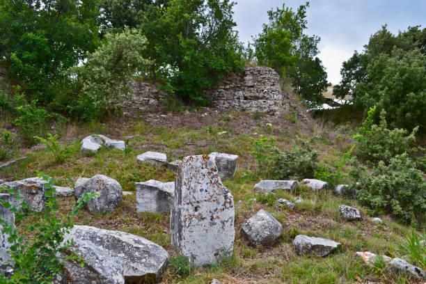 Der Blick auf die Ruinen von Troja – Foto