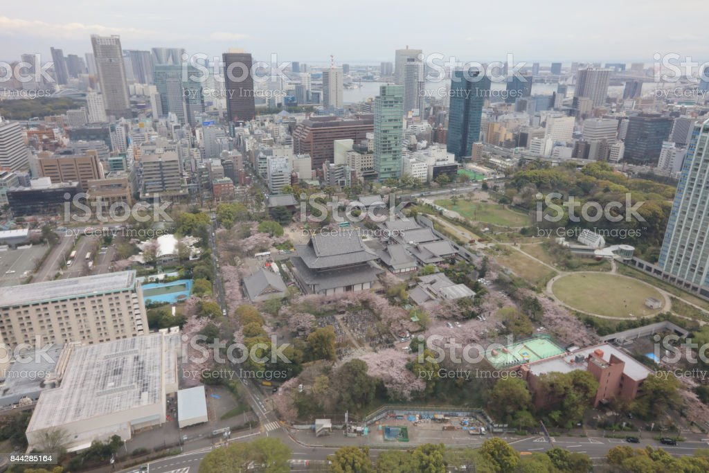 Modern cityscape view in Tokyo, capital city of Japan