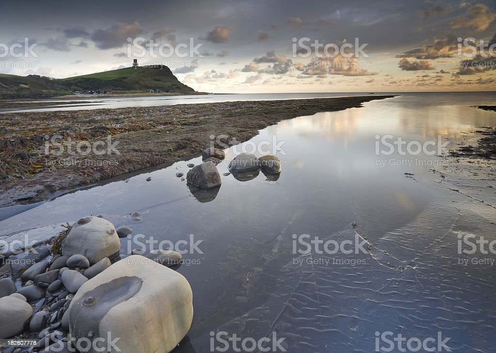 The view to Clavell's Tower stock photo