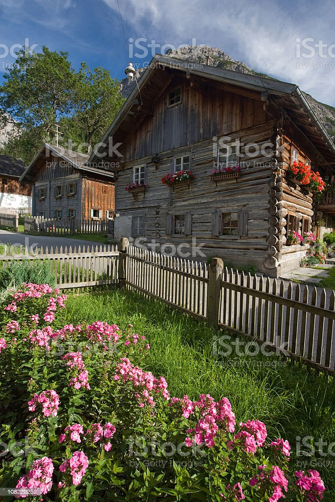 the village boden royalty-free stock photo