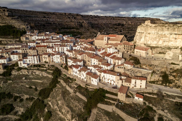Das Dorf von Ares del Maestrat in Castellon Spanien – Foto