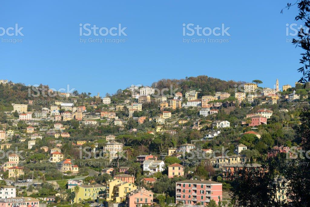 The village of Camogli 免版稅 stock photo