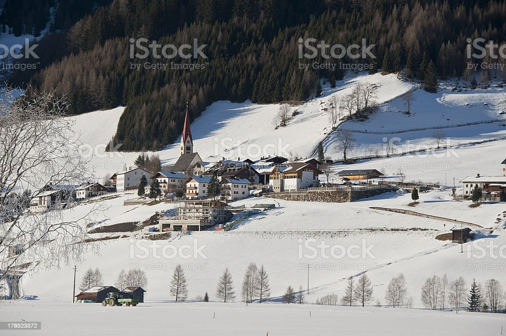 the village of kematen royalty-free stock photo