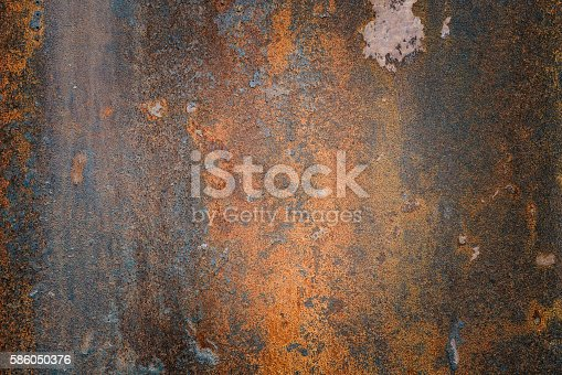 istock The vintag rusty grunge steel textured background 586050376