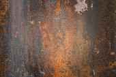 Red metal sheet floor texture