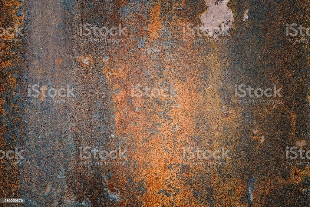 The vintag rusty grunge steel textured background stock photo