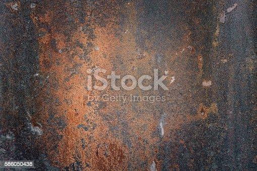 istock The vintag rusty grunge steel textured background 586050438
