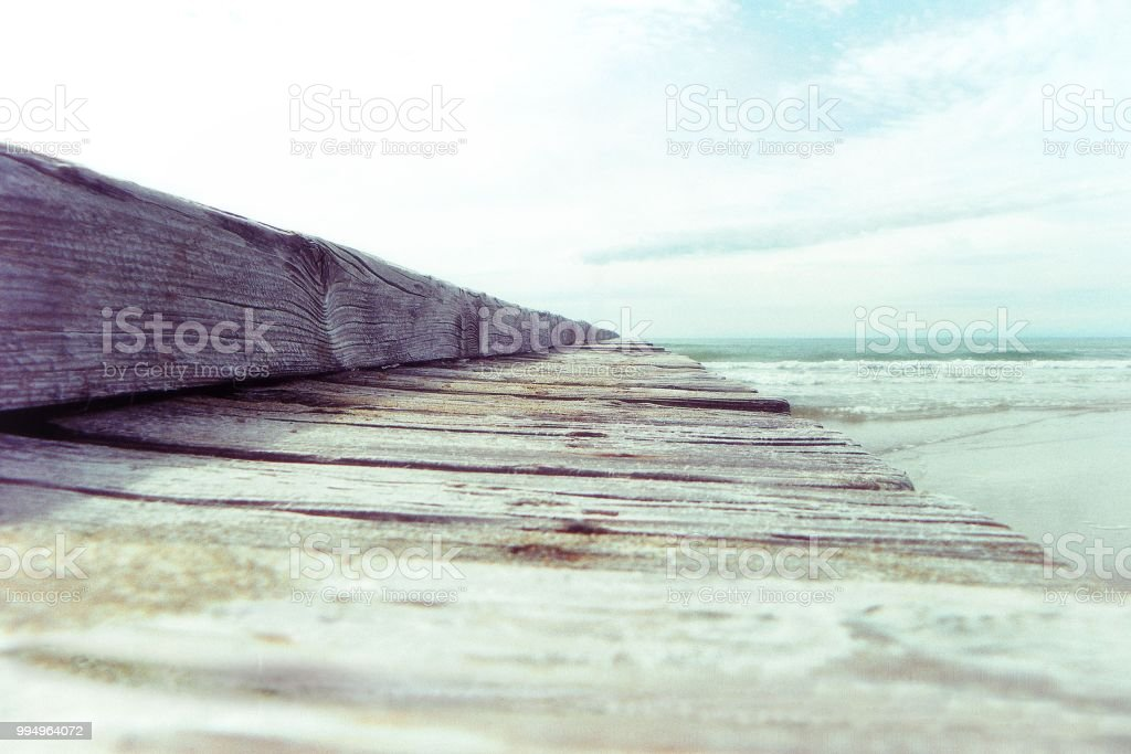 The Vintage beach - foto stock