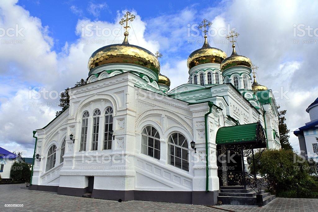 The Virgin Monastery of Raifa stock photo