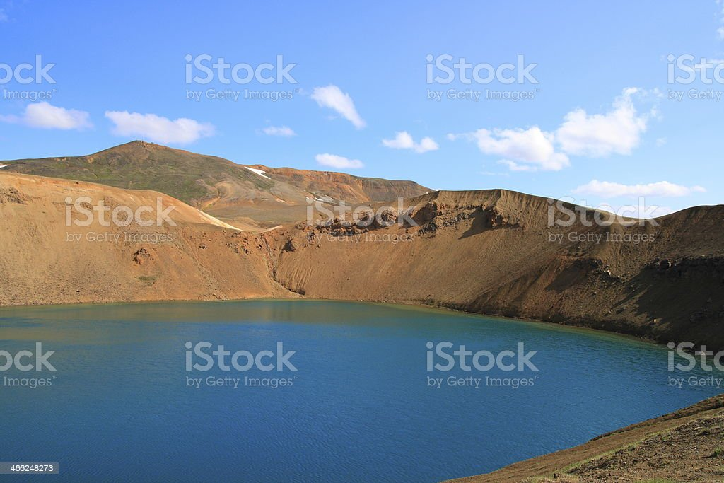 The Viti crater royalty-free stock photo