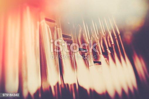 Silver Pipe Organ