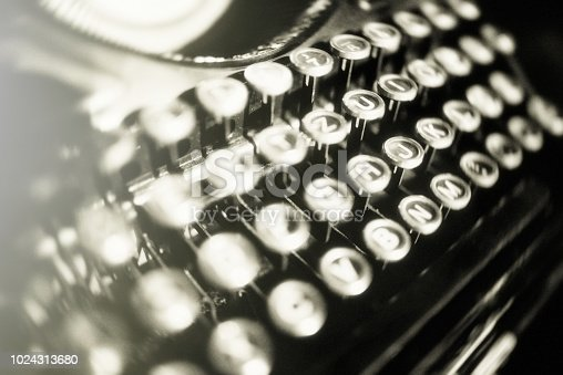 The old Typewriter