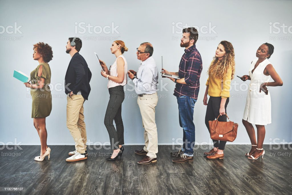 The wait is long, make it shorter by keeping busy stock photo