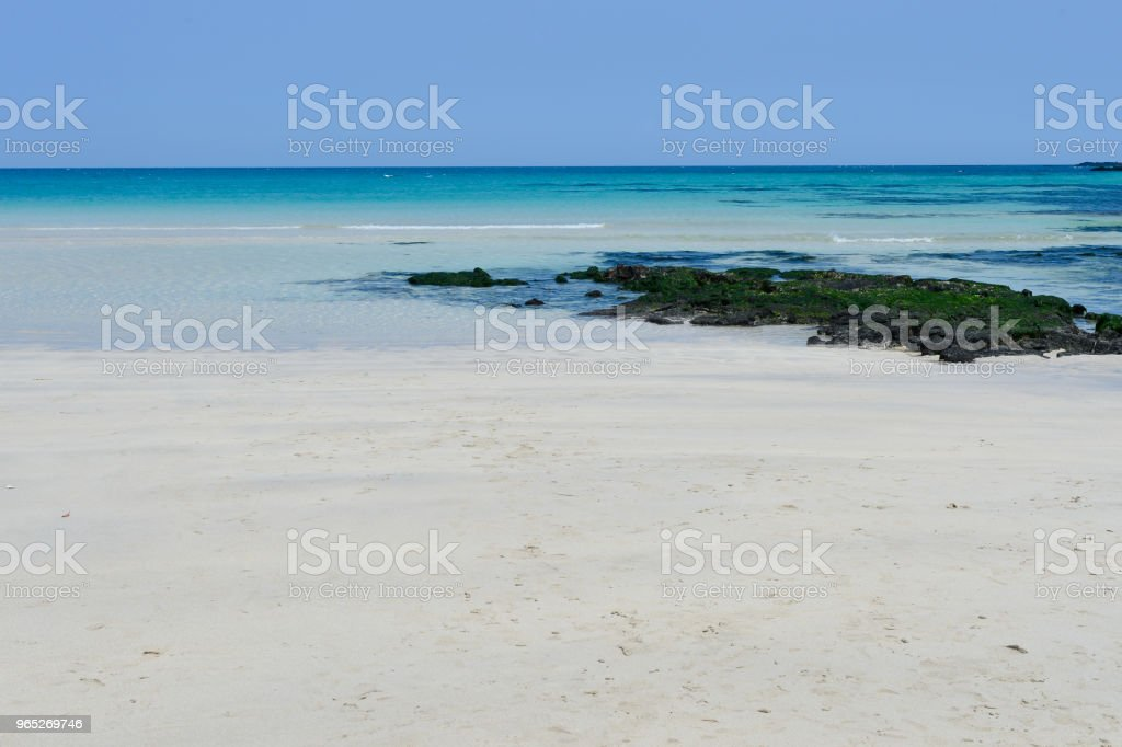 The Waljungli beach is good to rest quite a long time. royalty-free stock photo