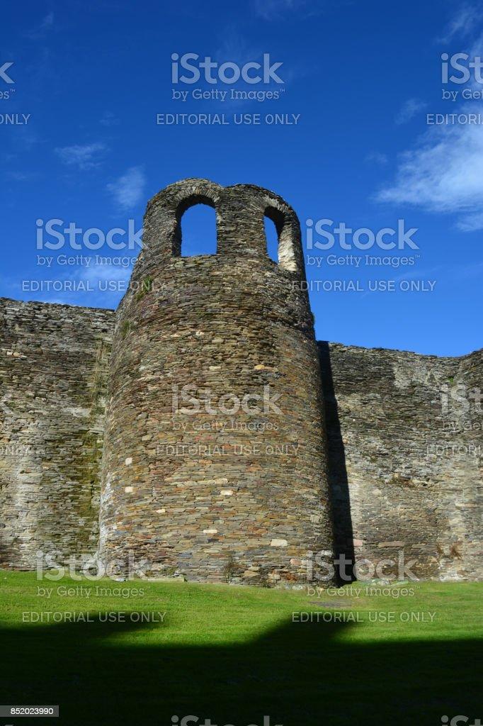 La muralla de Lugo, Patrimonio de la Humanidad  por la UNESCO, en Galicia, España stock photo