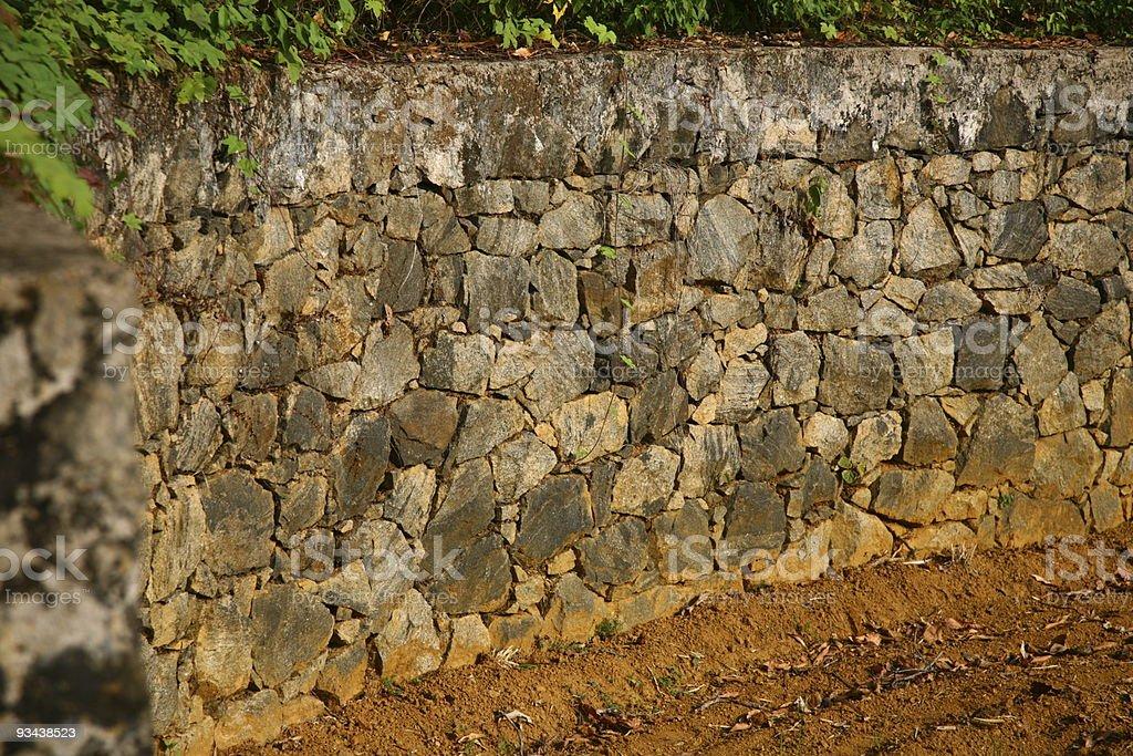 Die der wall Lizenzfreies stock-foto