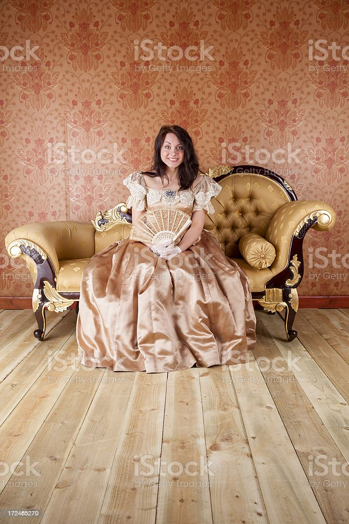 The Wallflower royalty-free stock photo