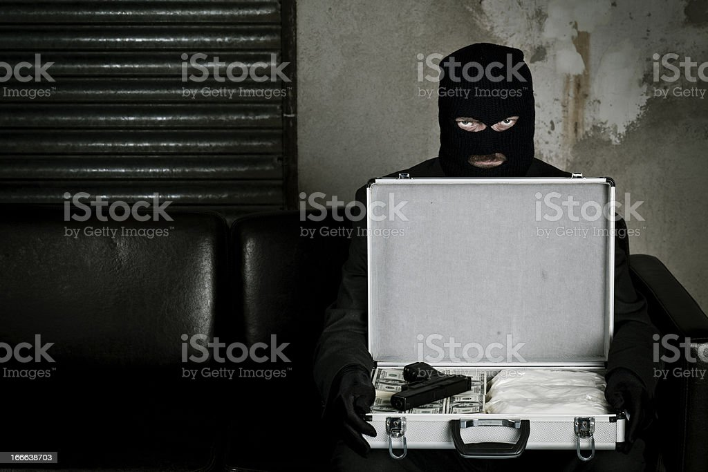 The war on drugs stock photo