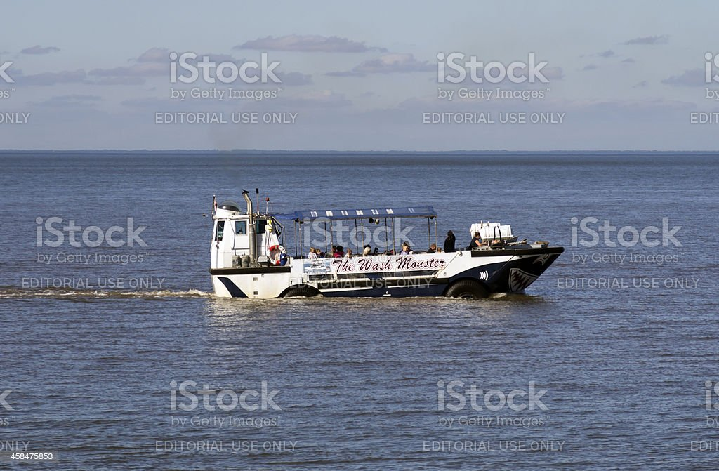 The Wash Monster at Hunstanton royalty-free stock photo