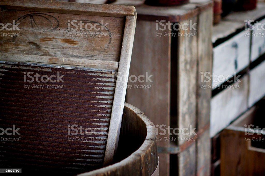 The Washboard stock photo