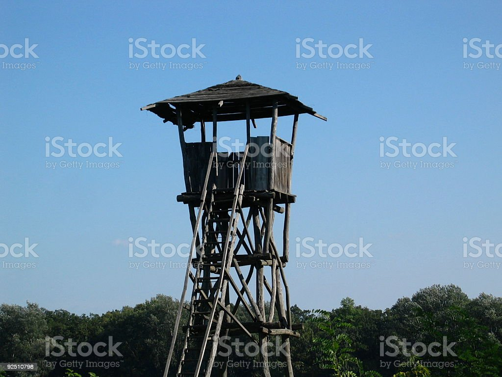 The Watch Tower royalty-free stock photo