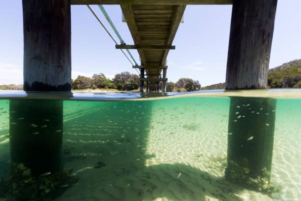 The Water Under the Bridge stock photo