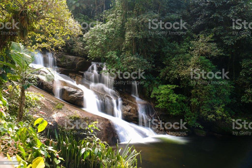 The waterfall II stock photo