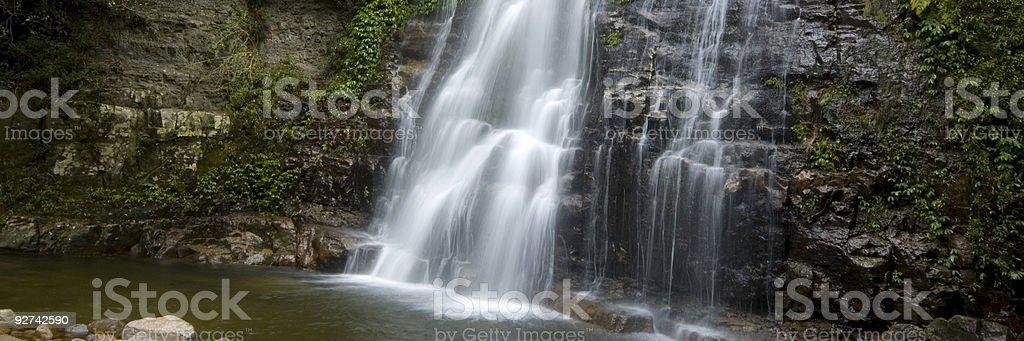 The Wasserfall Lizenzfreies stock-foto