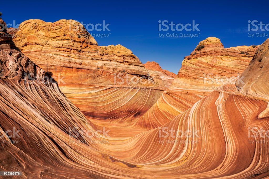 La vague, Arizona - Photo de Arizona libre de droits