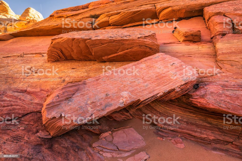 The Wave Arizona royalty-free stock photo