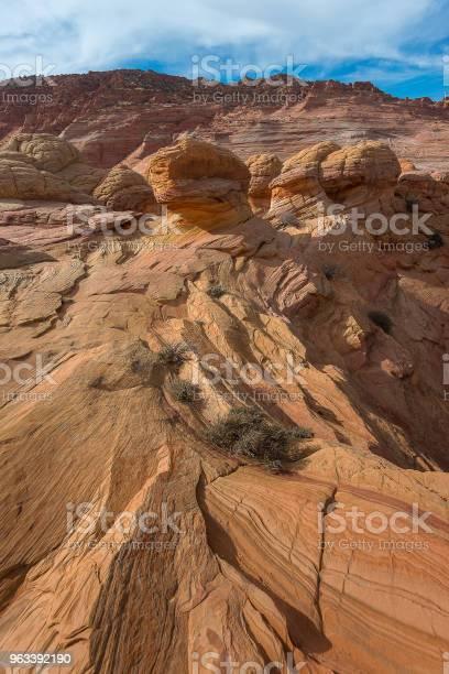 Fala Navajo Sandstone Arizona - zdjęcia stockowe i więcej obrazów Bez ludzi