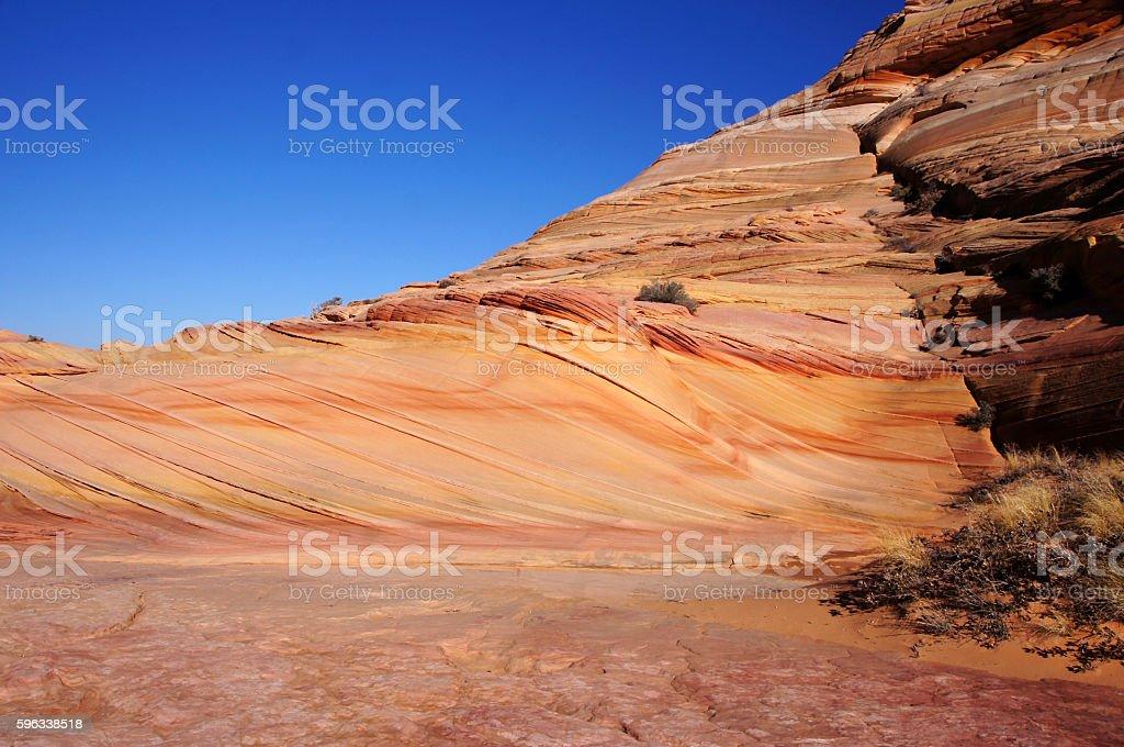 The Wave, Vermilion Cliffs National Monument, Arizona, USA royalty-free stock photo