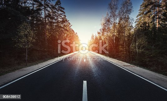 istock The way forward at sunset 908439512