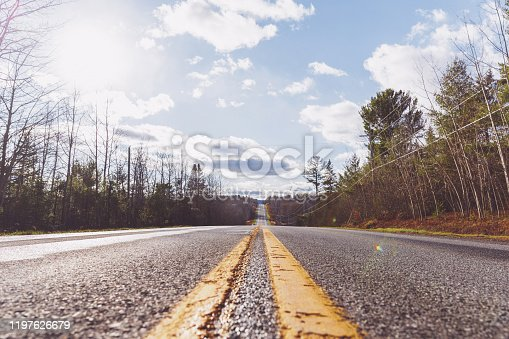 Travel, Journey, Road - Low angle image of roadway