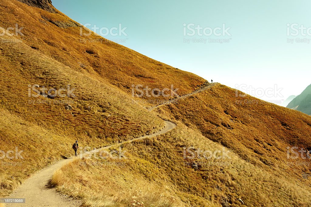 The way forward royalty-free stock photo
