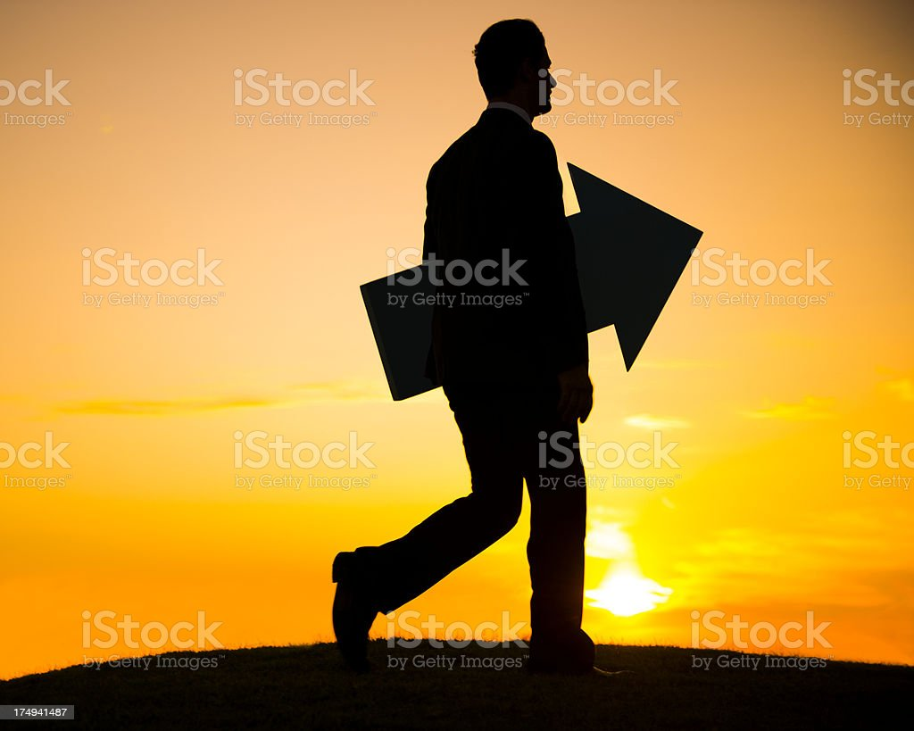 The Way Forward royalty-free stock photo