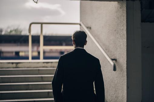 Der Weg Nach Vorne Stockfoto und mehr Bilder von Anzug