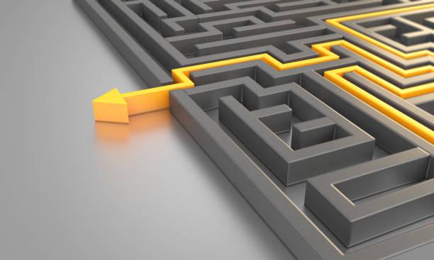 the way out of maze - przewodnictwo zdjęcia i obrazy z banku zdjęć