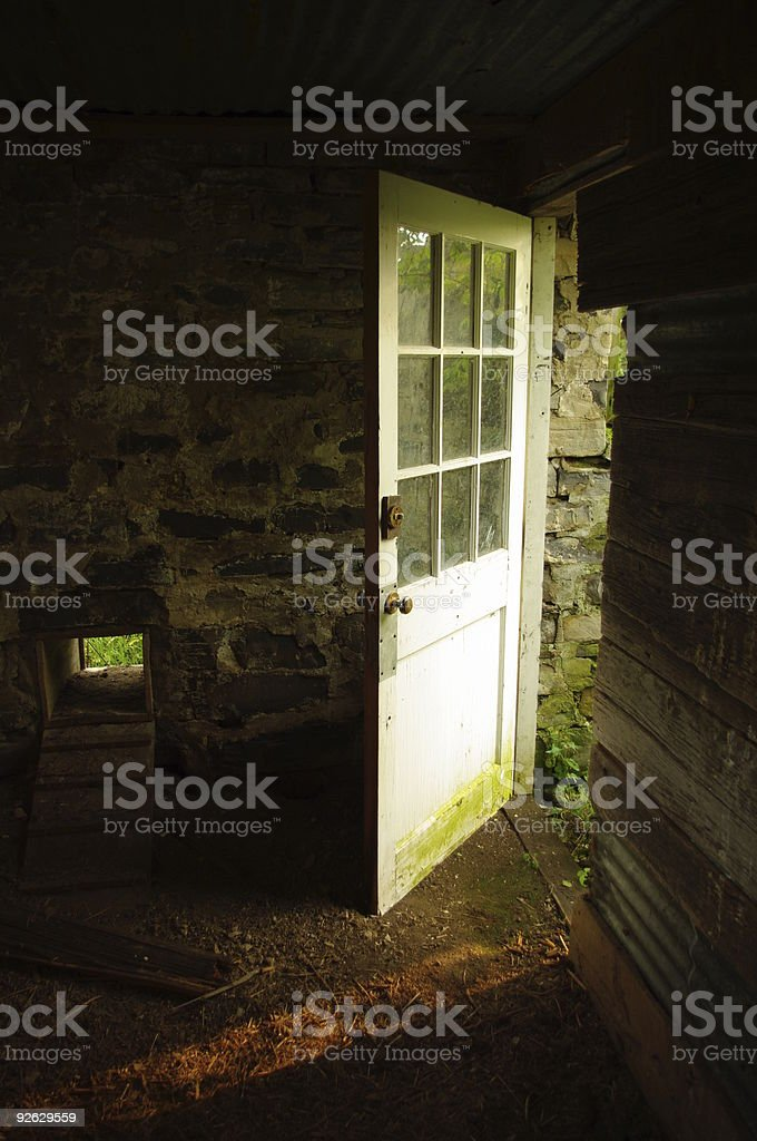 The Way Out - Royalty-free Chicken Coop Stock Photo
