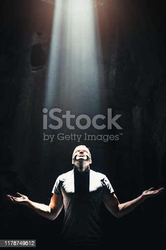 istock The way to God 1178749512