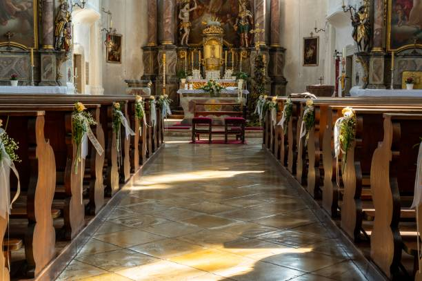 der Weg zum Altar – Foto