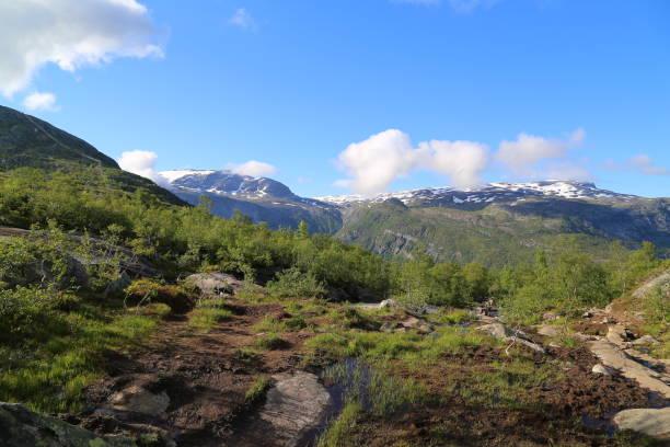 Der Weg nach Trolltunga, Norwegen – Foto