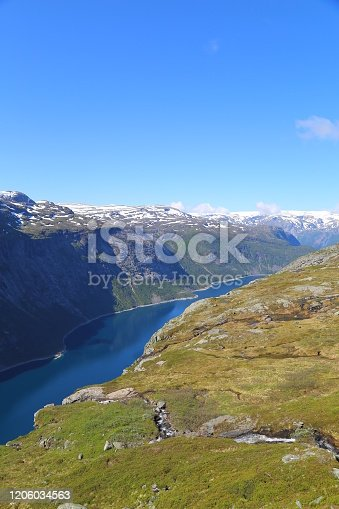 The way to Trolltunga, Norway