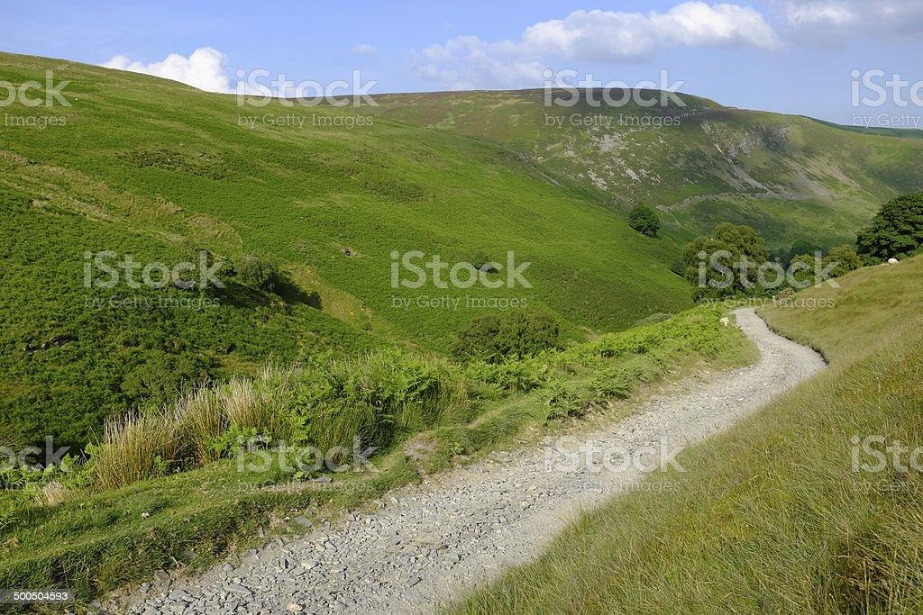 The Wayfarers Track stock photo