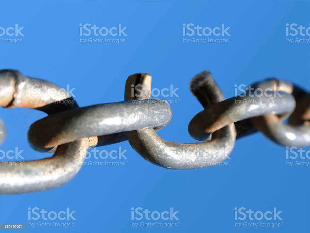 The Weakest Link royalty-free stock photo