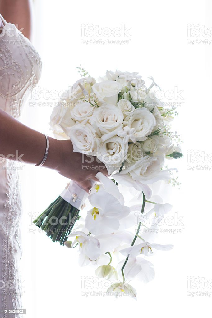 The Wedding Bouquet stock photo