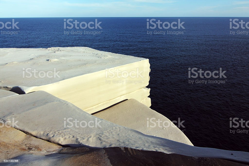 The Wedding Cake Rock At Royal National Park Sydney Stock Photo