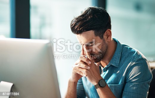 istock The weekend is calling his name 874811594