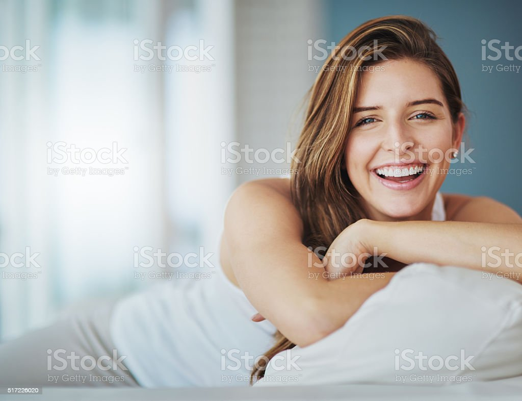 The weekend is here and I'm feeling great stock photo